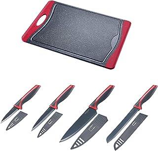 Westmark 145222E6 Ensemble de couteaux de cuisine en plastique