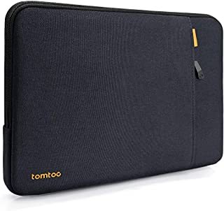 tomtoc 360° Protective Laptop Sleeve Compatible with 2018 MacBook Air 13-inch | 13 inch MacBook Pro A1989 A1706 A1708, Notebook Bag with Accessory Pocket for USB-C Devices