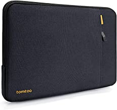 tomtoc 360 Protective Sleeve for 15 inch Dell XPS, 14 HP Acer Chromebook, 14 Inch Thinkpad T and E Series Laptop, Shockproof Notebook Bag Case with Accessory Pocket