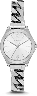 DKNY Women's NY2424 PARSONS Silver Watch