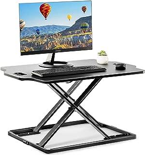 スタンディングデスク パソコンデスク 昇降式デスク リフティングテーブル 座位・立位両用昇降 32インチ Accurtek
