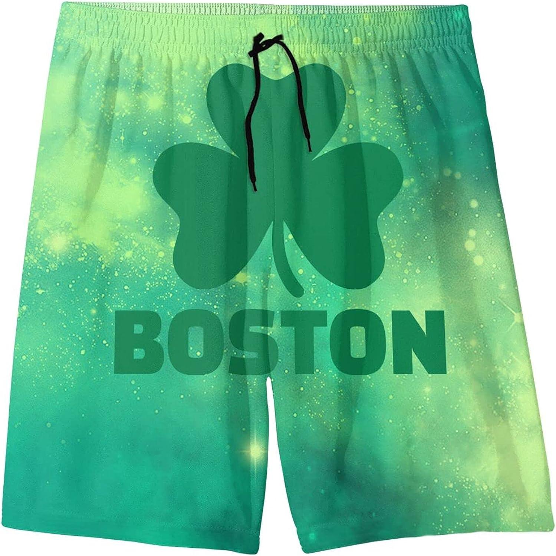 Ranking TOP17 Changzixlaw Boston Today's only Irish Shamrock Boys Teenager Girl Beach Child