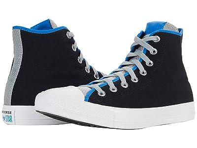 Converse Chuck Taylor(r) All Star(r) Digital Terrain Hi (Black/Ash Stone/Digital Blue) Lace up casual Shoes