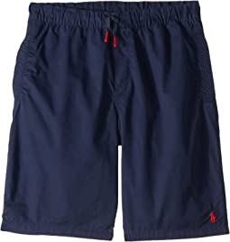 Cotton Chino Pull-On Shorts (Big Kids)