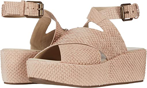 Blush Snake Leather