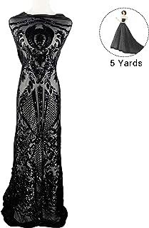 Best black on black brocade fabric Reviews