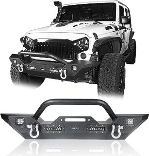 Best gsi 07 17 jeep wrangler jk front bumper Reviews