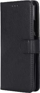 Lomogo Huawei Mate10 Pro ケース 手帳型 耐衝撃 レザーケース 財布型 カードポケット スタンド機能 マグネット式 ファーウェイMate10Pro 手帳型ケース カバー 人気 - LOKTU30327 黒