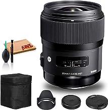Sigma 35mm f/1.4 DG HSM Art Lens for Canon EF Standard Kit photo