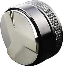 Coffee Distributor 53mm, BetterLife Espresso Distribution Tool/Leveler, 3 Angled Slopes Adjustable Depth Tamper Fits 54mm ...