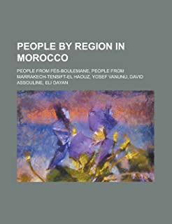 People by Region in Morocco: People from Casablanca, People from El Jadida, People from Fes-Boulemane, People from Marrakech