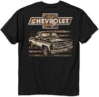 Chevy 73 Camo Flag T-Shirt-5 Oz Range