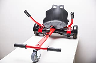 WorryFree Gadgets New with Shock Absorber & Pneumatic Tyre for Off-Road Hoverboard Accessories Hovercart Go-Karting