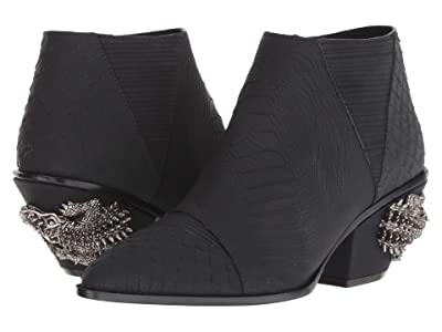 Giuseppe Zanotti Kevan Alligator Jewel Embellished Boot (Anaconda Nero) Women