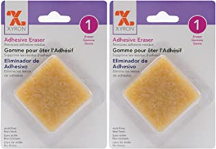 2-Pack - Xyron 23675 Adhesive 2 inch by 2 inch Eraser
