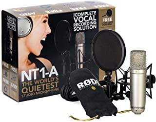 Rode NT1-A Cardioid Condenser Microphone (Renewed)