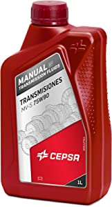 CEPSA 646414188 Synthetic Oil for Manual Transmissions and Gear Boxes  Liter