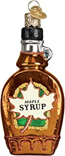Old World Christmas Glass Blown Ornament Maple Syrup
