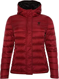 Liverpool FC Red Womens Soccer Down-Filled Jacket LFC Official