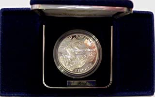 1991 S - 1995 World War 2 50th Anniversary Two Coin Proof Set US Constitution Commemorative Dollar Mint State US Mint