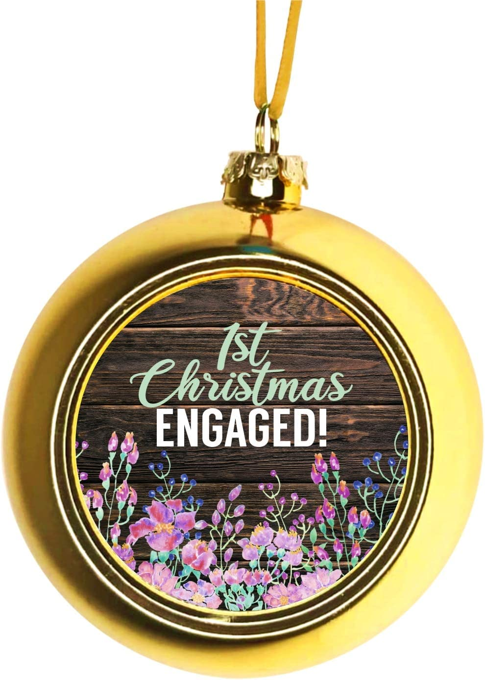 Lea Elliot Max 46% OFF Inc. Manufacturer direct delivery Engagement Christmas Tree Ornaments - Eng We are