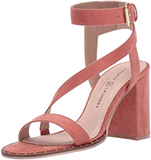 Chinese Laundry Women's SIMI Heeled Sandal, Clay Suede, 6.5 M US