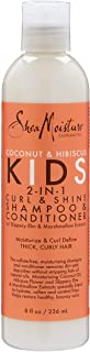 SheaMoisture Coconut and Hibiscus 2 in 1 shampoo and conditioner for kids