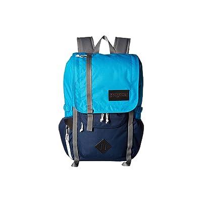 JanSport Hatchet Backpack (Blue Danube/Navy) Backpack Bags