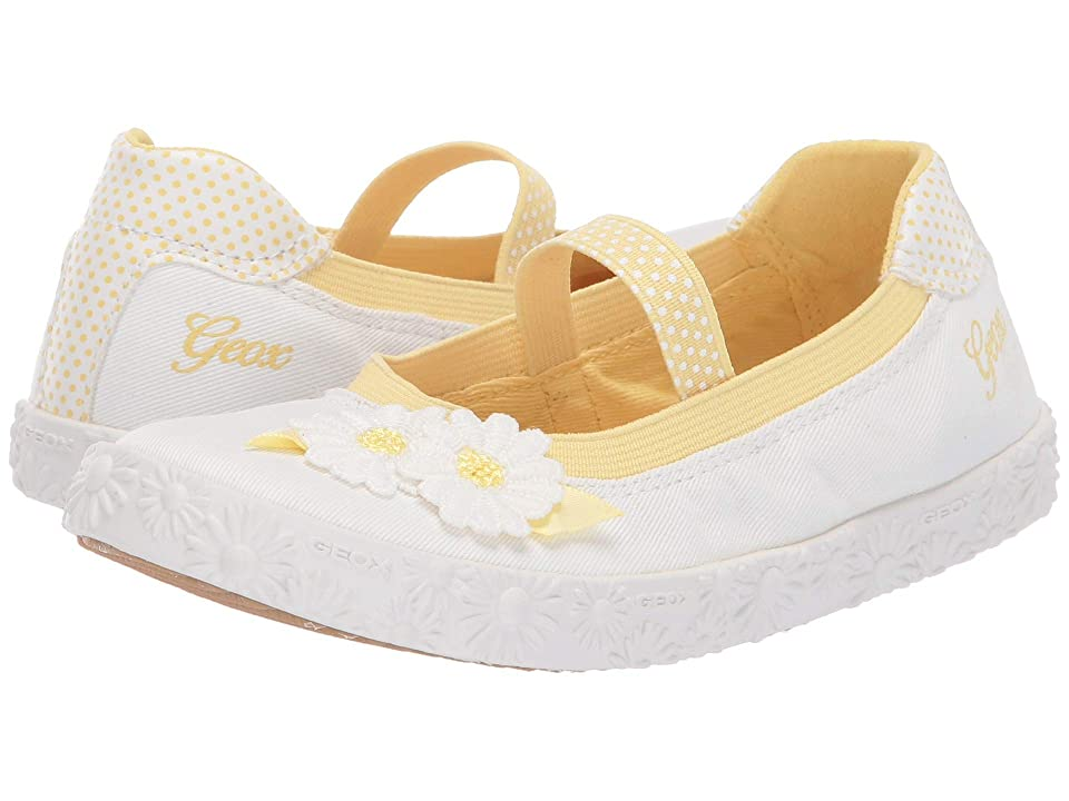 Geox Kids Kilwi Girl 46 (Little Kid) (White) Girl