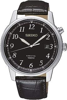 Seiko Reloj Analógico para Hombre de Kinetico con Correa en