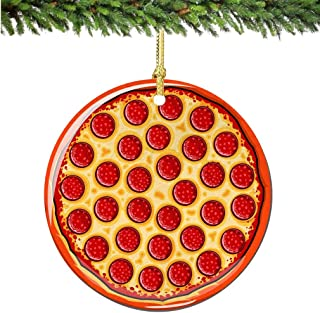 Best pizza christmas ornaments Reviews