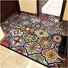 Non-Slip Carpet YANZHEN Hallway Runner Rugs Corridor Carpet Entrance Pad Non-Slip Cutable Washable Low Pile Custom Size Bl...