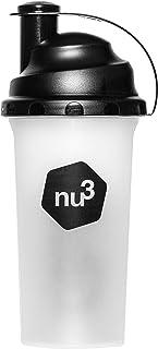 Shaker - Voor proteïneshakes, eiwitshakes en andere dranken - 700 ml drinkfles met slim zeefje voor klontvrij mixen - Blen...