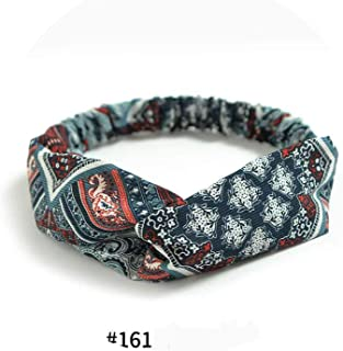 Girls Elastic Hair Bands Top Knot Turban Flower Headbands Bow Head Hoop Hair Accessories,161