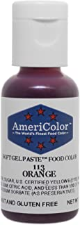 Americolor Soft Gel Paste Food Coloring, Orange, .75 oz