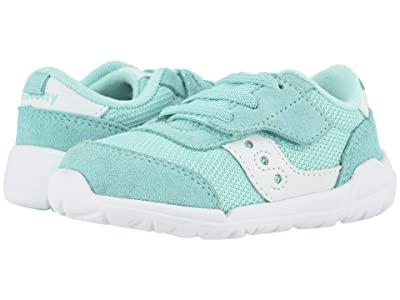 Saucony Kids Originals Jazz Riff (Toddler/Little Kid) (Turquoise/White) Kid