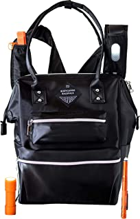 WOMENS BACKPACK 24-Feature Convertible Backpack Tote With Anti Theft Bag Design. Travel Approved Womens Carry On Includes Built-In Personal Safety Gear. Bodyguard Backpack For Women Is Like No Other!