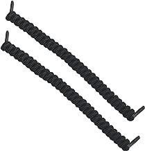Curly No-Tie Shoelaces, Black
