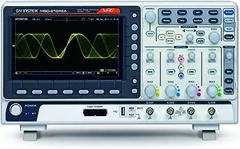 GW Instek MSO-2204EA MSO-2000 Mixed-Signal Oscilloscope, 200 MHz, 4-Channel, Digital Storage, 16-Channel LA, Dual Channel, 25 MHz AFG