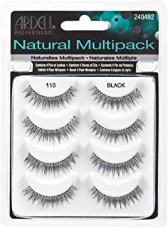 Ardell Natural Multipack Lashes - #110 Black (Pack of 2)