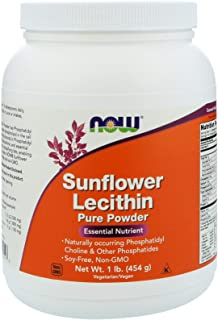 Now Foods, (2 Pack) Sunflower Lecithin, Pure Powder, 1 lb (454 g)