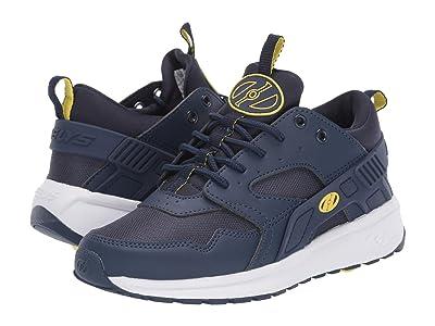Heelys Force (Little Kid/Big Kid/Adult) (Navy/Yellow) Boys Shoes