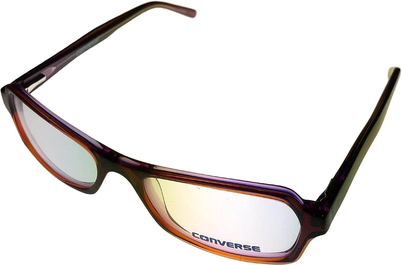 Converse Womens Ophthalmic Plastic Eye Wear Frame Seek Brown