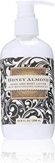 Michel Design Works Hand and Body Lotion, Honey Almond, 8 Fluid Ounce