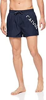 Calvin Klein Men's Swim Shorts - Core Diagonal