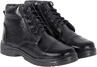 Blinder Mens Black Lace-Up DMS Casual Boots