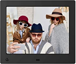 NIX Advance 8 Inch Digital Photo Frame X08E - Digital Picture Frame with IPS Display, Motion Sensor, USB and SD Card Slots and Remote Control