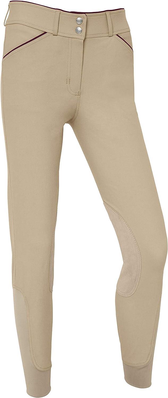 Dover Saddlery Ladies' Wellesley Breech Size 5 ☆ very popular OFFer GoTech Knee-Patch