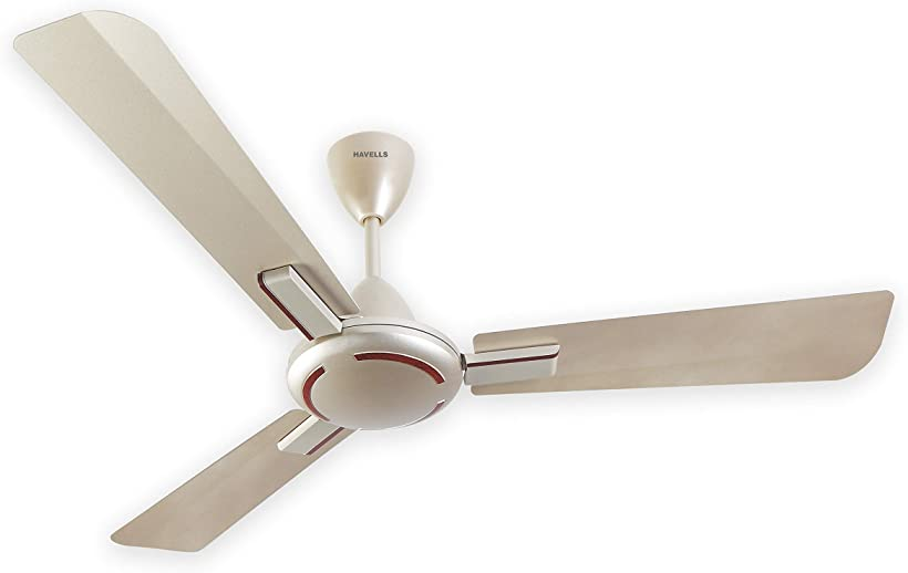 Havells Ambrose 1200mm Ceiling Fan (Gold Mist Wood)