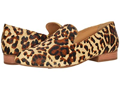 Jack Rogers Audrey Haircalf Loafer (Leopard Print) Women
